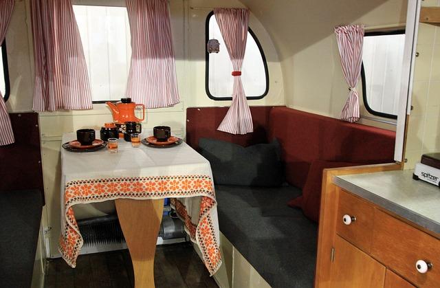 posezení v karavanu
