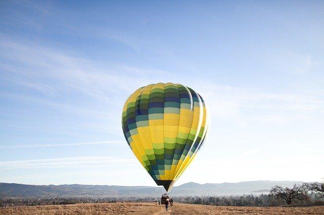 horkovzdušný balón