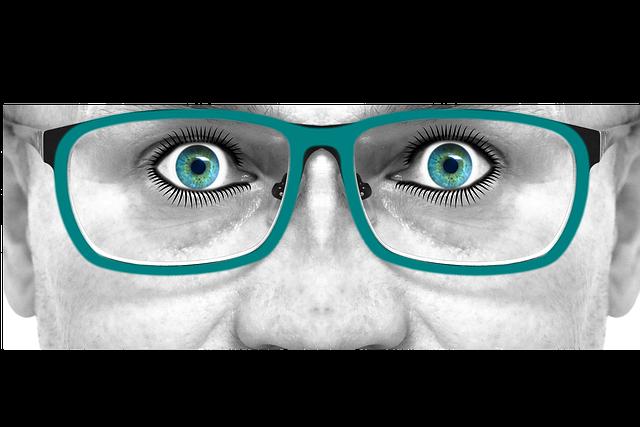 zelené brýle