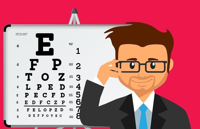 zkouška očí