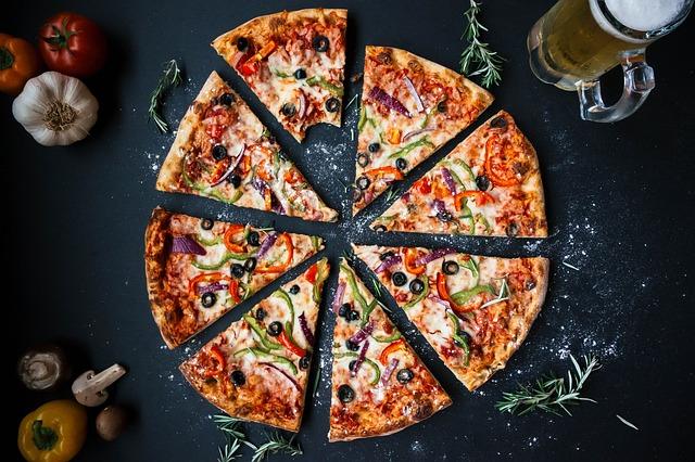 olivová pizza