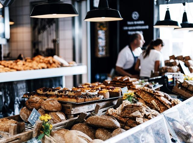 prodejna pekárny